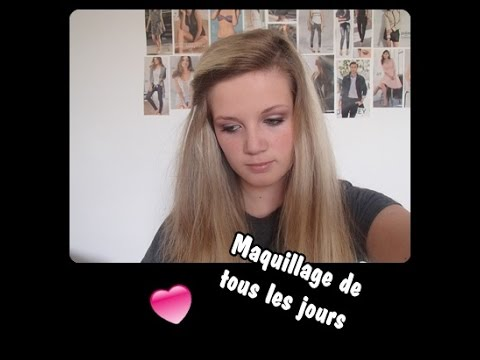 tutoriel maquillage n 1 maquillage de tous les jours beautygirls youtube. Black Bedroom Furniture Sets. Home Design Ideas