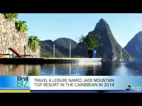 Unlocking the Mystery of Jade Mountain in Saint Lucia | ABC News Real Biz Interview