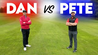 EPIC WINGMAN GOLF BATTLE! Peter Finch vs Dan Hendriksen | 9 Hole Course Vlog