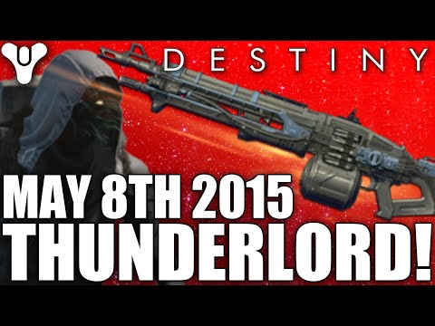 Destiny: Xur's Exotic Armors & Weapons - THUNDERLORD / Agent Of The Nine / 8th May 2015