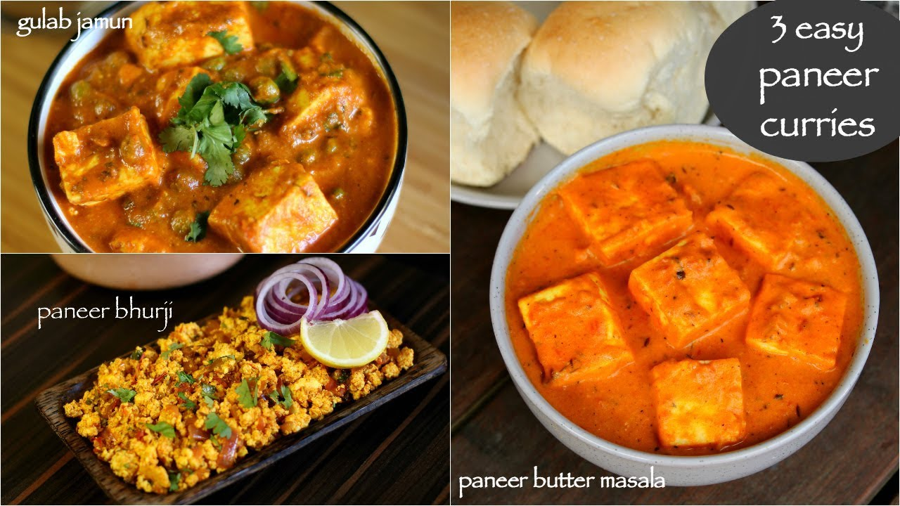 Ilmu Pengetahuan 6 Quick And Easy Paneer Recipes Hebbars Kitchen