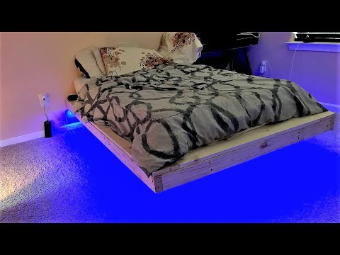 quality design 5babd ee1b5 How To Make A Floating Bed - Time lapse