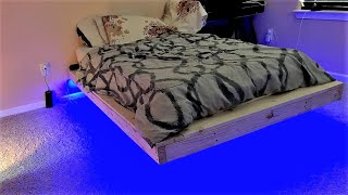 How To Make A Floating Bed - Time lapse
