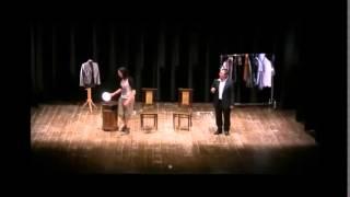 Alessandro Timpanaro e Martina Macelloni insieme in teatro