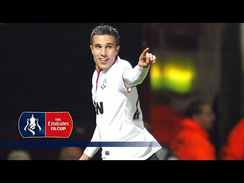 Van Persie's stoppage time equaliser v West Ham (2012/13 FA Cup) | From The Archive