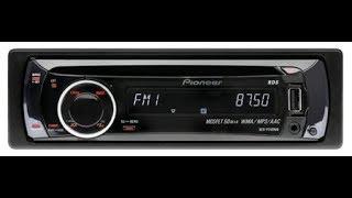 CD/MP3 Ресивер Pioneer DEH-P3100ub