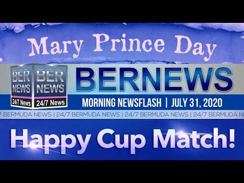 Bermuda Newsflash For Friday, July 31, 2020