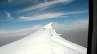 Vuelo Santiago - Lima en el  Boeing 787 Dreamliner de LAN