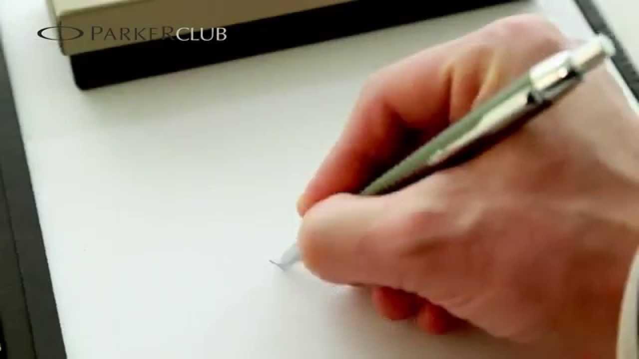 Шариковая ручка Parker Duofold K74 Big Red GT чернила черные 1907192