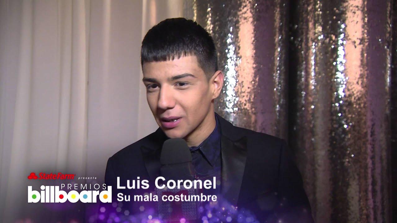 Conoce De Cerca Al Finalista De Los Billboard Awards Luis Coronel