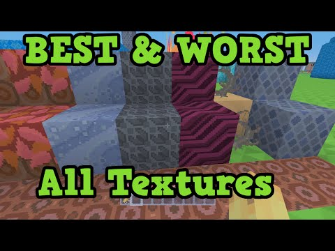 Minecraft - Best & Worst Blocks All Texture Packs