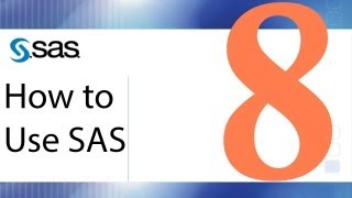 How to Use SAS - Lesson 8 - Paired and Two-Sample t Tests