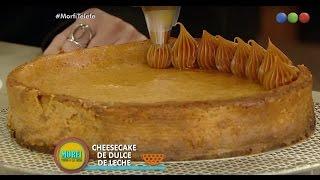 Cheesecake de dulce de leche - Morfi