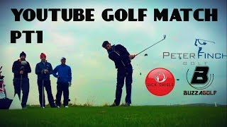 YOUTUBE GOLF MATCH PART 1 - NORTH Vs SOUTH