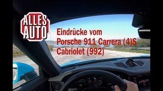 Porsche 911 Carrera (4) S Cabriolet  (992) | Alles Auto Eindrücke