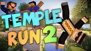 I AM A BULGARIAN MONKEY TROLL - Minecraft Mini-game: Temple Run 2 w/ Vikkstar and WOOFLESS