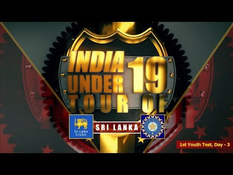 Sri Lanka U19 vs India U19, 1st Youth Test, Day - 3