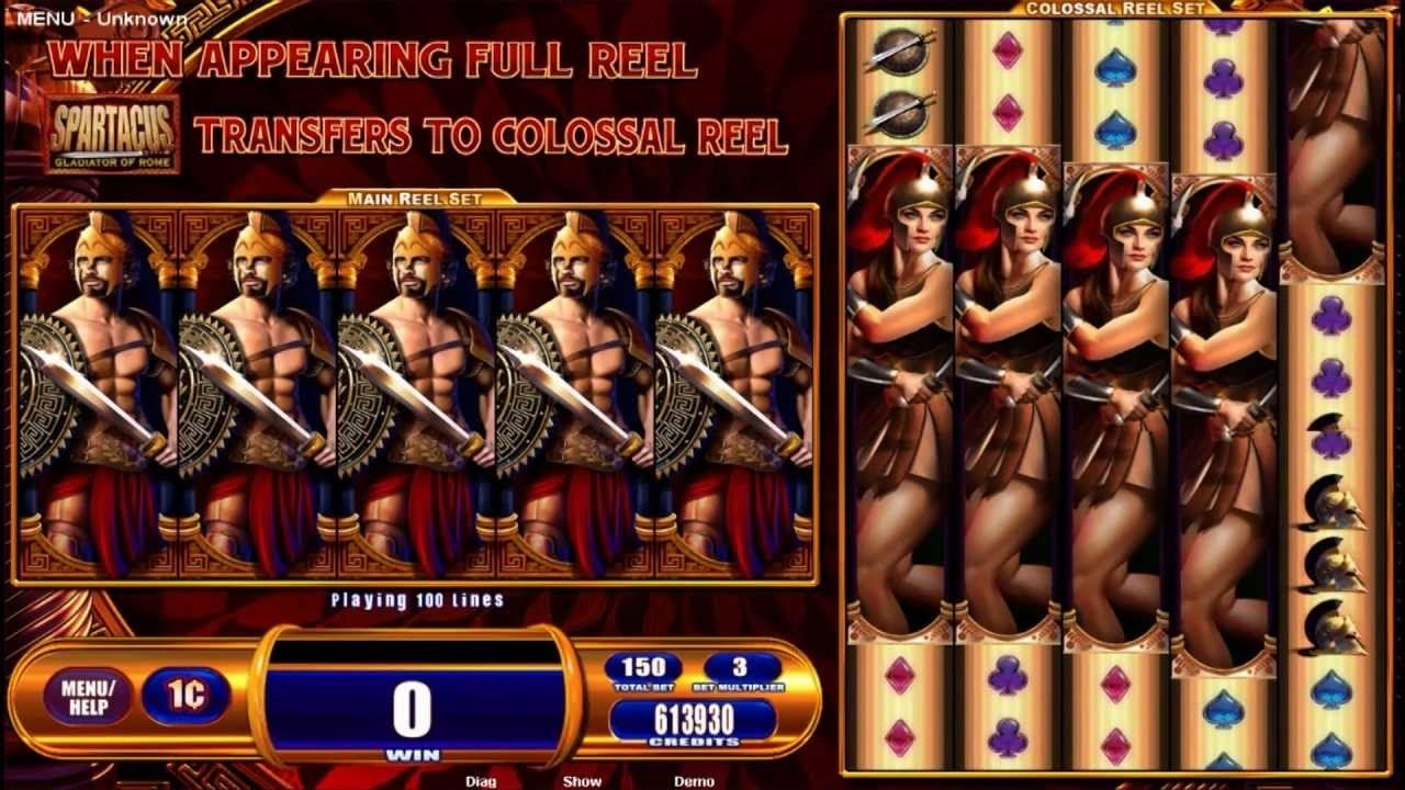 Spartacus Slot Machine Free