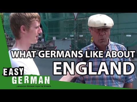 What do Germans like about England?   Easy German 24 indir