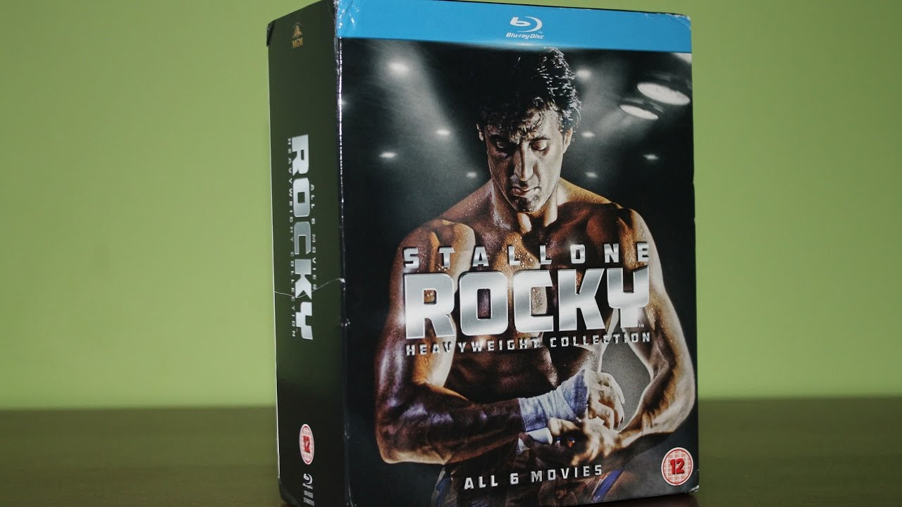 The Complete Rocky Heavyweight Collection UK Blu-ray ...