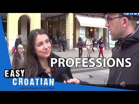Easy Croatian 8 - Professions