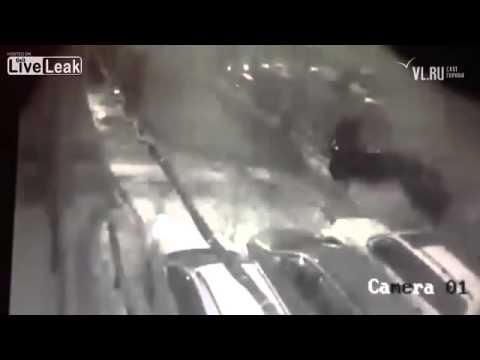 Attempted murder on driver of Land Cruiser in Vladivostok using TNT 2