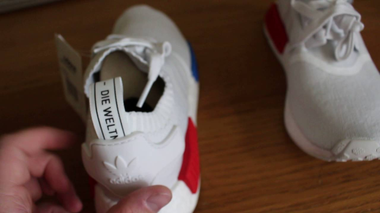 newest 48d31 438a1 Adidas NMD Runner PK White 'Flipped OG' Unboxing and Review