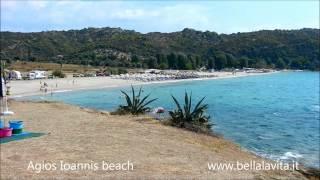 Zapętlaj Agios Ioannis beach (near Nikiti - halkididi) | esalvotti