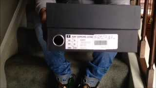 adidas x raf simons ozweego 2 s s15 unboxing quick look on feet