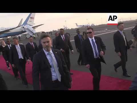 Tillerson arrives in Addis Ababa at start of six-day Africa tour