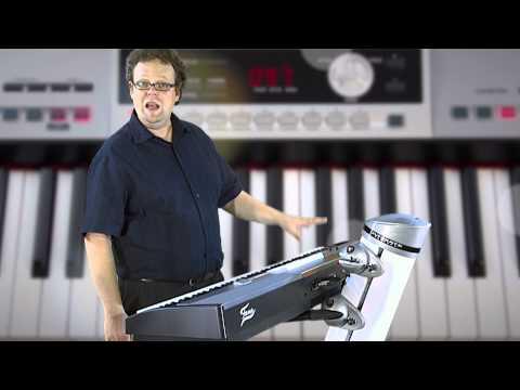 FAME SP-5100 - portables Stage Piano mit Begleitautomatik