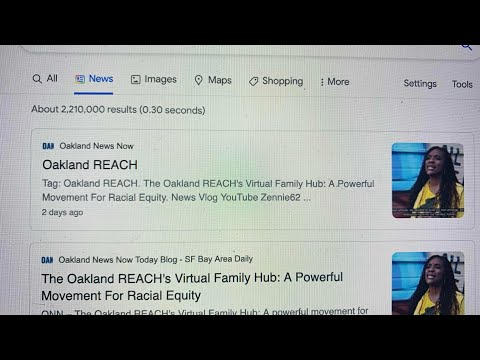 Zennie62Media Helps OUSD And Oakland REACH, Which Ignores Its Oakland News Now For Lesser NY Times https://youtu.be/ULqr7PqBcqQ