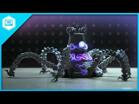 "0 - 3D-gedruckter Guardian Robot aus "" The Legend of Zelda - Breath of the wild"""