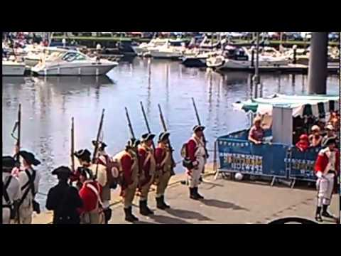 Georgian Navy Re-enactments at Maritime Ipswich