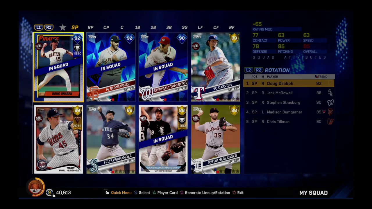 MLB The Show 17 Diamond Dynasty Team: Montreal Expos Roster Update Version  2 0