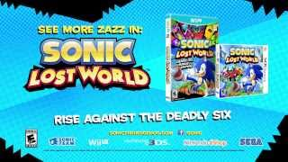 Sonic Dash - Sonic Lost World Boss Battle Trailer