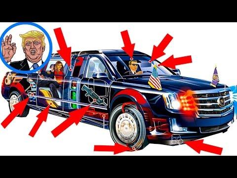 President Trump's limousine: The Beast