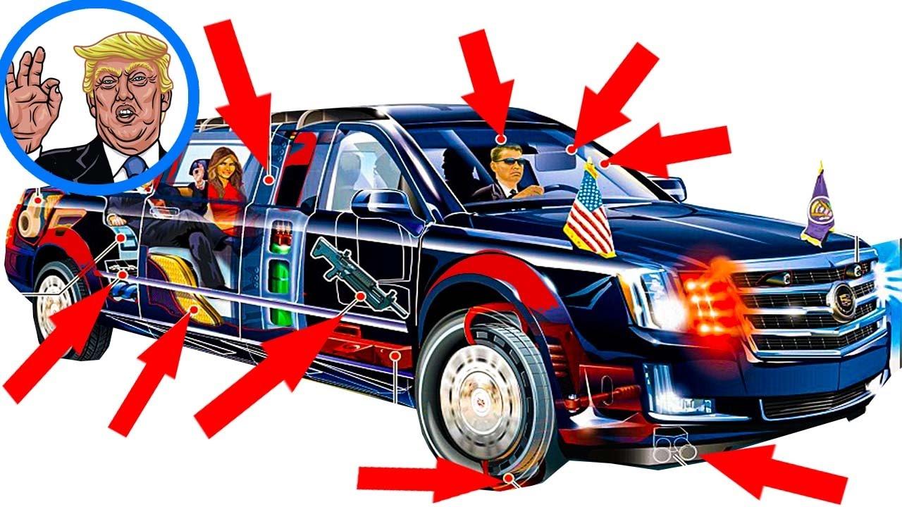 president trump s limousine the beast youtube. Black Bedroom Furniture Sets. Home Design Ideas