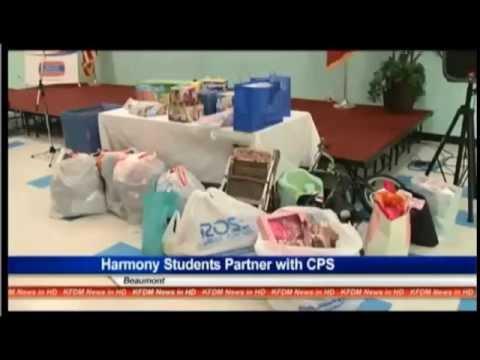 Harmony Science Academy Beaumont Rainbow Room KFDM 6 News