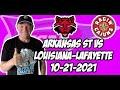 Arkansas State vs Louisiana 10/21/21 Free College Football Picks and Predictions Week 8
