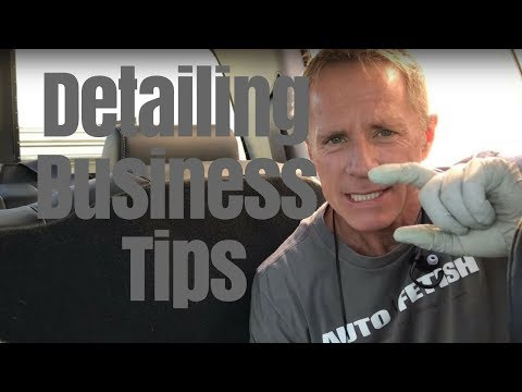 Auto Detailing Business: Tips from the front line!