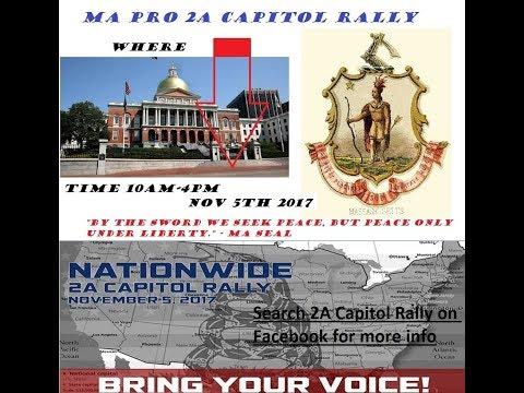 2A Capitol Rally Boston, Massachusetts State house