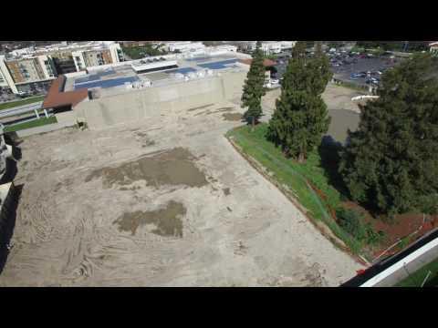 Sunnyvale Teardown | Future Whole Foods and Movie Theater | 4K