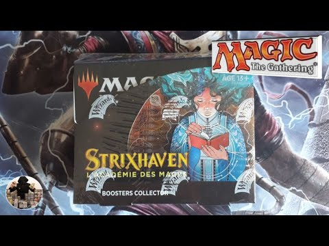 Strixhaven: opening of a box of 12 Collector boosters, Magic The Gathering cards
