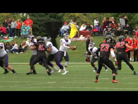 Mount Union - Ohio Northern Football Highlights (10/1/16)