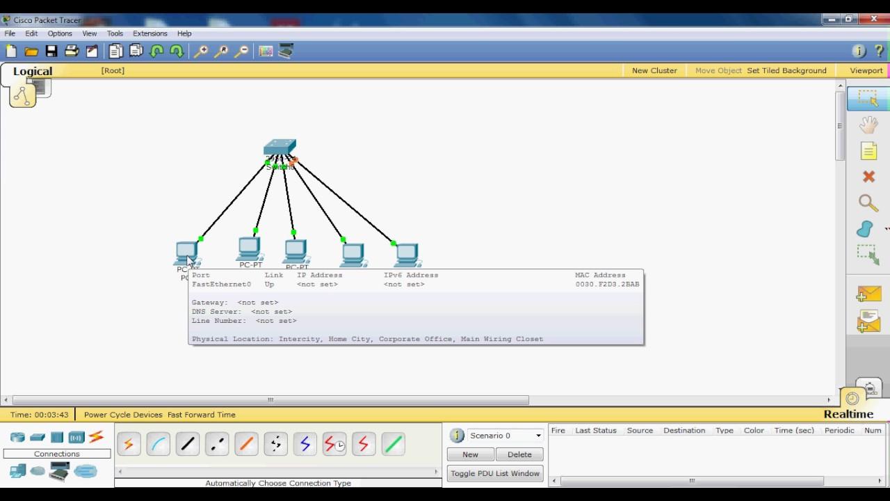Como usar o background image - Como Usar O Packet Tracer Da Cisco