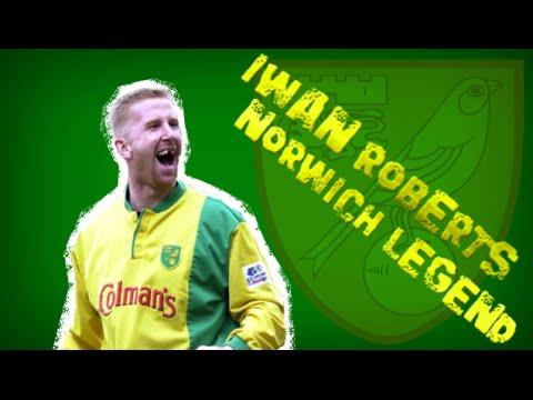 IWAN ROBERTS - Norwich City Legend