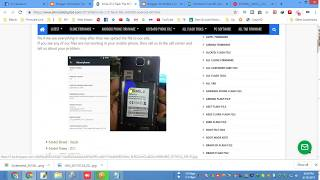 Smile Z12 Flash File MT6580 Android 6.0 LCD Fix Dead Recovery Firmware.