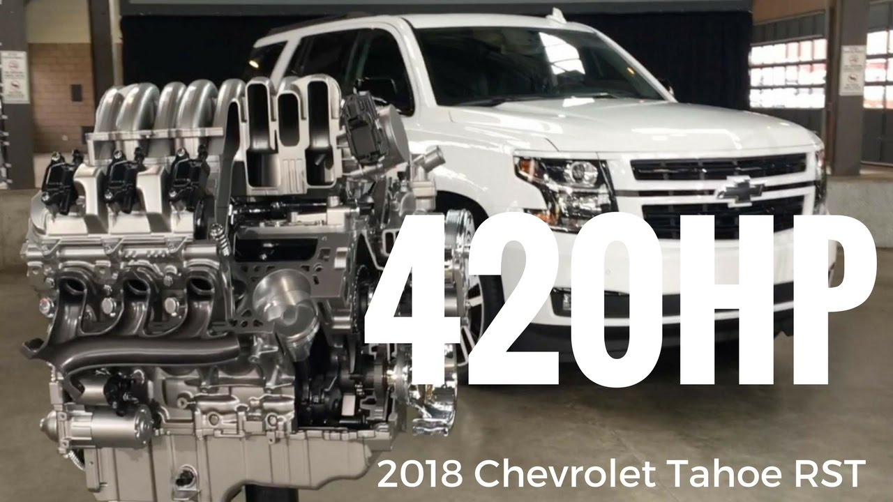 2018 chevrolet tahoe rst special edition presentation by chief engineer eric stanczak