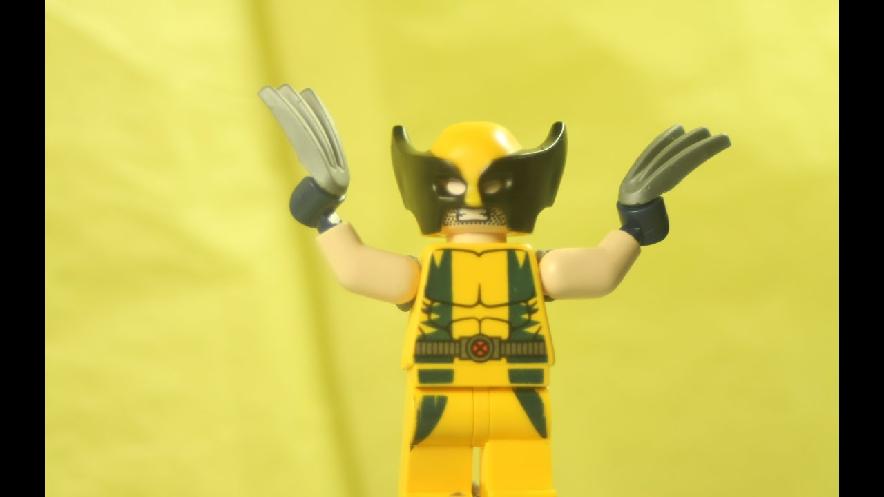Lego The Wolverine YouTube